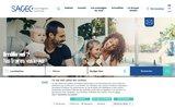 screenshot http://www.sagec.fr SAGEC – Promoteur Constructeur Immobiliers