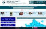 screenshot http://www.santeenfrance.fr établissements de santé