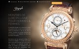 screenshot http://www.sayeghjoaillier.com bijouterie, bijoux , montres: joaillerie sayegh