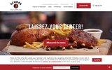 screenshot http://www.scores.ca restaurant de poulet