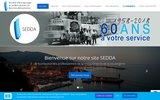 screenshot http://www.sedda.fr sedda grossiste alimentaire corse rhd et boul-pat