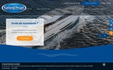 screenshot http://www.selestiboat.com/ location de bateaux à Fréjus