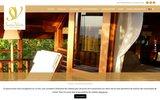screenshot http://www.senteurvanille.com senteur vanille : meublés de tourisme, île de la réunion.