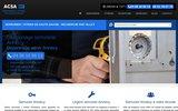 screenshot http://www.serrurier-vitrier-hautesavoie.fr/ ACSA Serrurerie