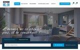 screenshot http://www.severini.com Severini Pierres et Loisirs, promoteur Immobilier depuis 1984