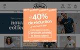 screenshot http://www.shaman-shop.fr Boutique en ligne vêtements de la marque Shaman