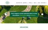 screenshot http://www.silolux.com animalerie à arlon