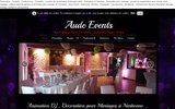 screenshot http://www.sls-lehavre.com aaa sls evènements le havre paris deauville aaa