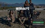 screenshot http://www.smart.fr/ smart : vente de vêtements pour hommes à lyon