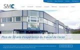screenshot http://www.smcours.net/ smc - créateur d'architecture métallique
