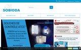 screenshot http://www.sobioda.com/ fournisseur de réactifs pour laboratoire