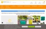 screenshot http://www.solairepratique.com éclairage solaire