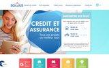 screenshot http://www.solutis.fr/ Rachat de crédit