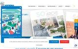 screenshot http://www.soprema-entreprises.fr/ etanchéité toiture-terrasse soprema entreprises