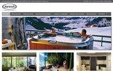 screenshot http://www.spa-des-savoies.com rive gauche vente saunas, spas, jacuzzi