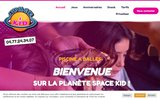 screenshot http://www.spacekid.fr Aire de jeux pour enfants dans la Loire
