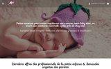 screenshot http://www.speednounou.com speed nounou, gardes d'enfant, nounou, baby sitter