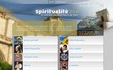 screenshot http://www.spiritualite2000.com spiritualité 2000