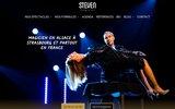 screenshot http://www.stevenmagicshow.com steven magicien en alsace