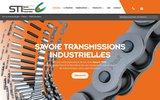 screenshot http://www.sti-transmission.fr/ sti transmission - transmission mécanique à chambéry – savoie.