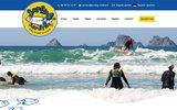 screenshot http://www.surfing-sardine.fr/ surfing sardine - ecole de surf de crozon-morgat