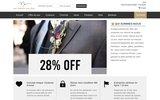 screenshot http://www.surmesurepascher.com costume sur mesure pas cher, 1/3 prix européen ; premier costume d'essai gratuit. vêtement grande taille sur mesure