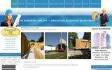 screenshot http://www.sylvie-barriere-concept.com sylvie barriere concept