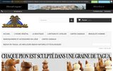screenshot http://www.taguaworld.com tagua world et l'ivoire végétal