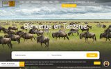 screenshot http://www.tanzanie-safari.fr Safari en Tanzanie