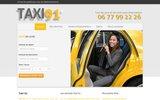 screenshot http://www.taxi-91.fr taxi 91