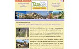 screenshot http://www.taxi-provencetours.com taxi provence tours