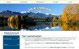 screenshot http://www.taxi-union-lannemezan.com/ transport de personnes à lannemezan 65