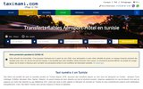 screenshot http://www.taximami.com taxi tunisie: transfert aeroport tunis hammamet
