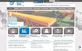 screenshot http://www.technitext.fr bureau d'études en ingenierie industrielle