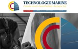 screenshot http://www.technologiemarine.com chantier naval en bretagne