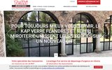 screenshot http://www.teffri-miroiterie.com/ devis miroiterie vitrier lille, devis vitre nord