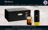 screenshot http://www.tendancesboutique.com stylo montblanc stylos luxe maroquinerie briquet st-dupont frey wille coffret montre - boutique stylos tendances boutique toulon marseille