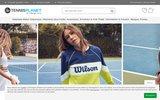 screenshot http://www.tennisplanet.fr/ tennisplanet
