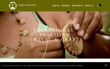 screenshot http://www.terra-amazonia.com/ produits folkloriques d'Amazonie