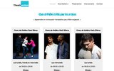 screenshot http://www.theatraction.fr cours de théâtre pour amateurs-theatraction
