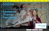 screenshot http://www.theatre-odeon.fr théâtre de l'odéon