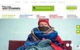 screenshot http://www.thermiconseil.fr thermiconseil, les experts en économies d'énergies