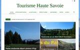 screenshot http://www.tourisme-haute-savoie.com vacances en haute savoie