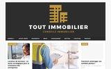 screenshot http://www.tout-immobilier.fr annonces immobilières de particuliers