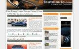 screenshot http://www.toutelauto.com toutelauto.com