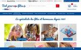 screenshot http://www.toutpourvosfetes.fr tout pour vos fetes et kermesse