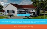 screenshot http://www.tradibudget.fr constructeur maisons tradibudget