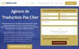 screenshot http://www.traducteur-pas-cher.com traducteur pas cher