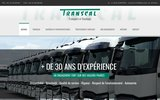screenshot http://www.transcal.fr transporteur de marchandises du calvados