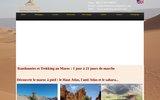 screenshot http://www.trekatlas-desert.com/ randonnée au maroc